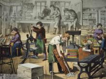 la reliure au 19ème siècle