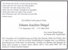 J.J.Dargel overleden
